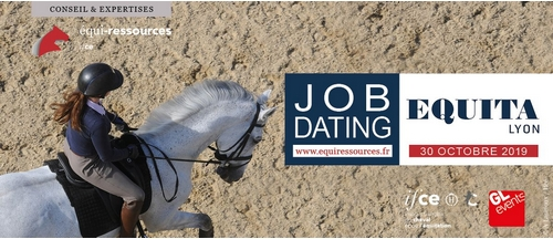 Job Dating Equiressources le 30 novembre pendant le salon Equita Lyon